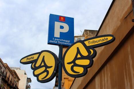 sign in porto