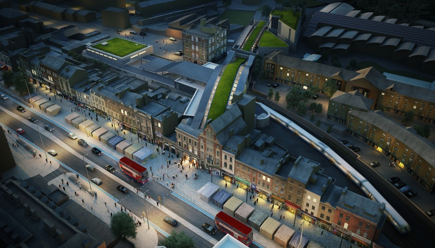 whitechapel_station_-_architects_impression_of_proposed_urban_realm_at_night_139047